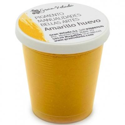 Pigmento amarelo ovo para artesanatos