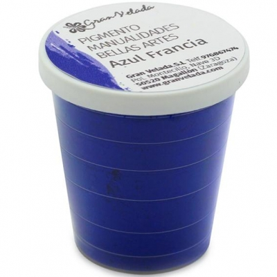 Pigmento para manualidades, Cor Azul França