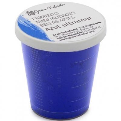 Pigmento para manualidades azul ultramar
