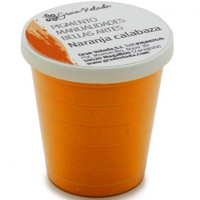 Pigmento laranja abobora para artesanatos