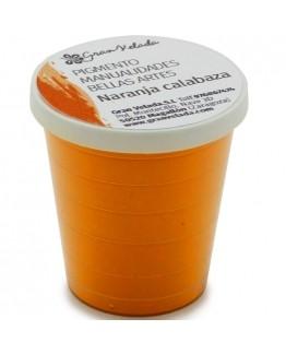 Pigmento para manualidades, laranja abóbora.