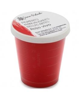 Pigmento escayola rojo