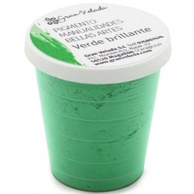 Pigmento para manualidades verde brillante