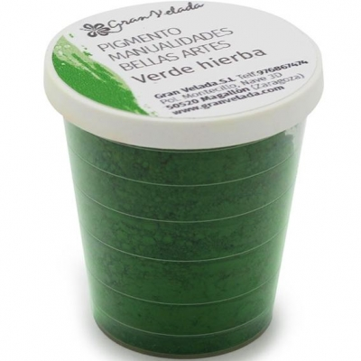 Pigmento para manualidades, Cor Verde Hierba
