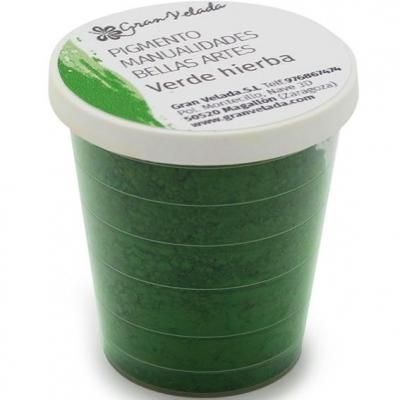 Pigmento para manualidades verde hierba