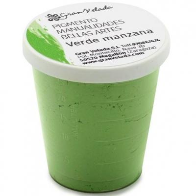 Pigmento para manualidades verde manzana