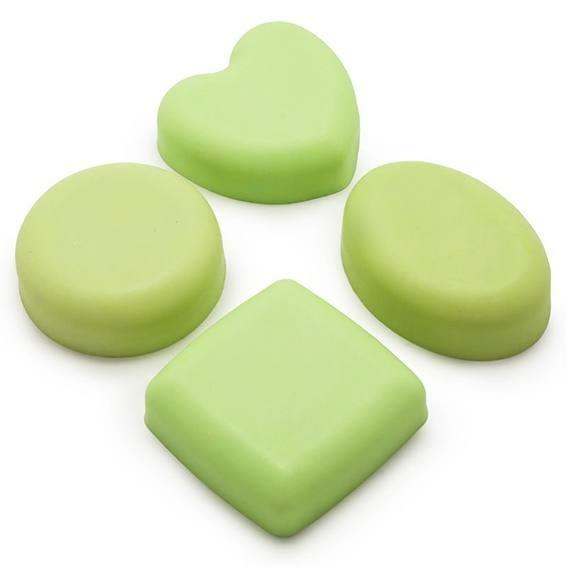 Moldes variados para sabonetes
