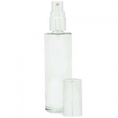 Frasco perfume redondo con spray
