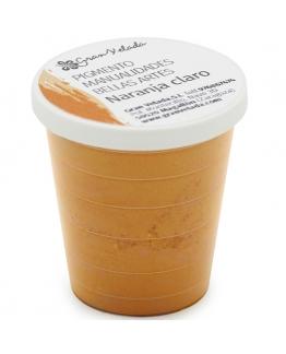 Pigmento naranja claro para manualidades