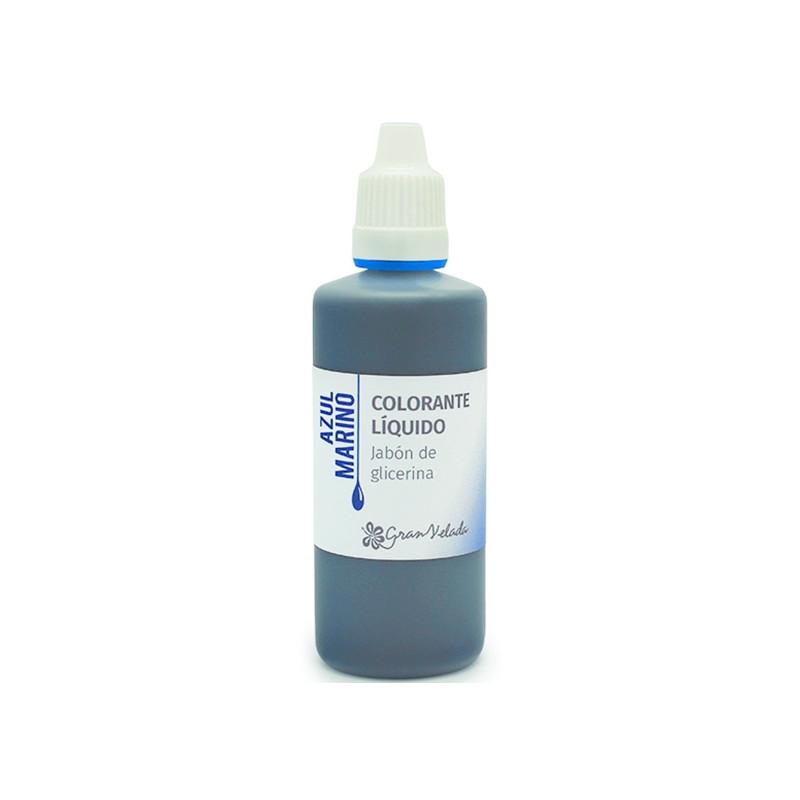 Corante sabao glicerina azul marinho