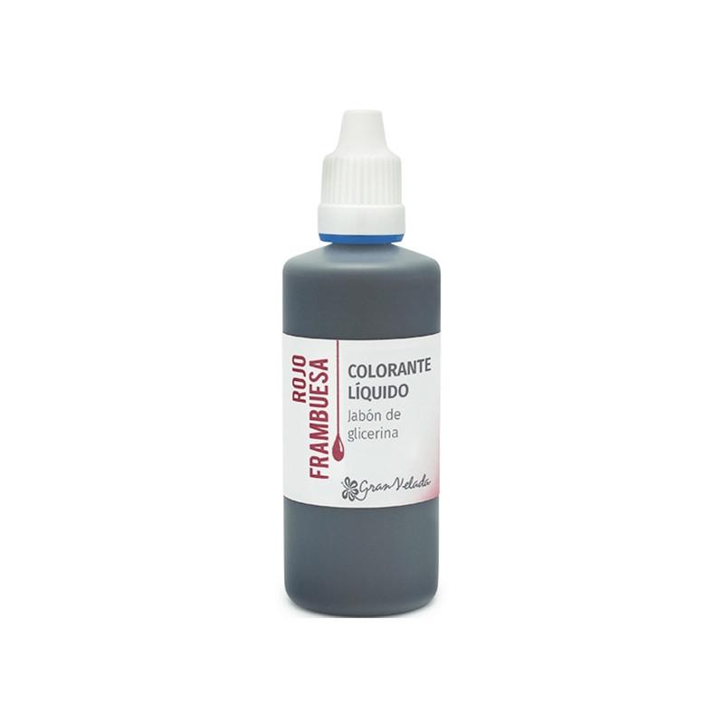 Colorante jabon glicerina rojo frambuesa