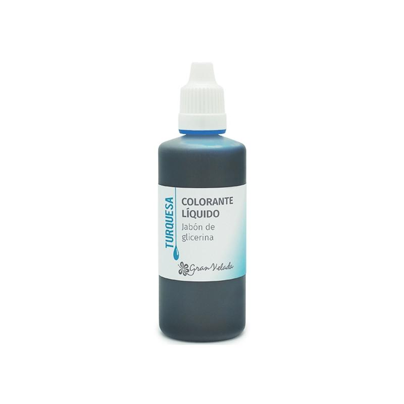 Colorante jabon glicerina Turquesa