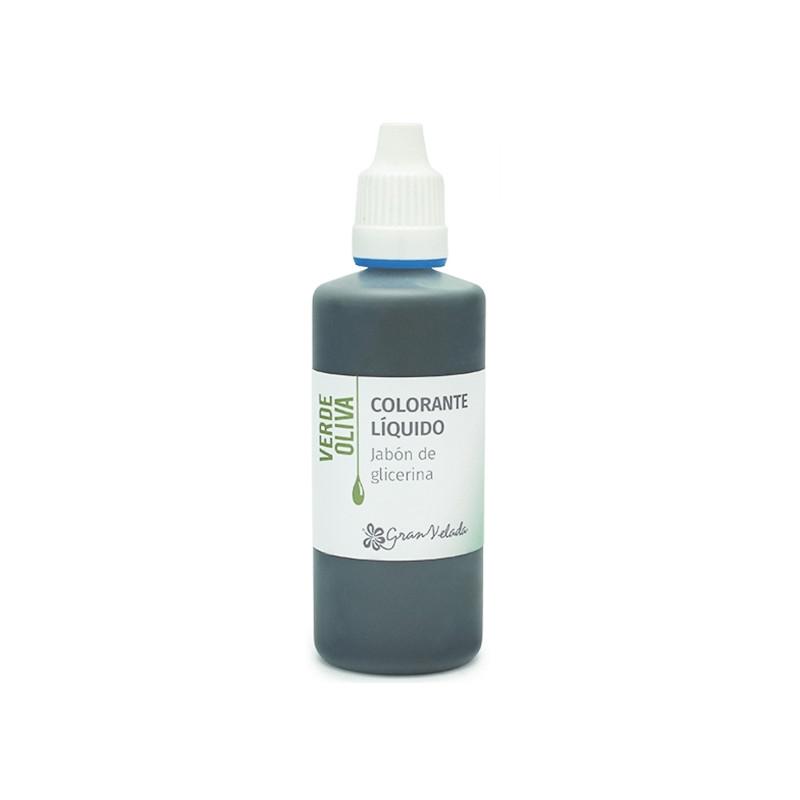 Colorante jabon glicerina verde oliva