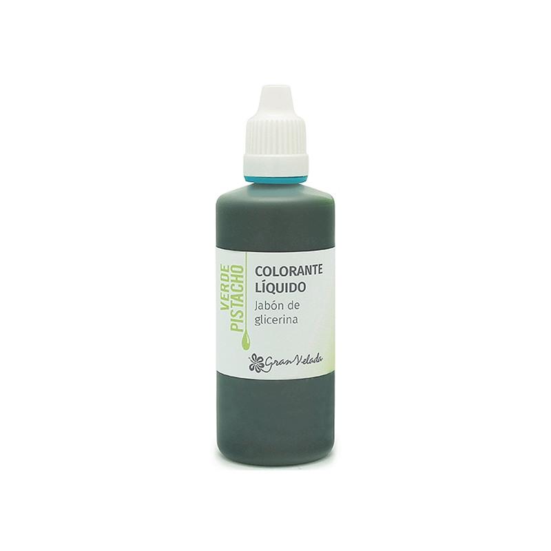 Colorante jabon glicerina pistacho
