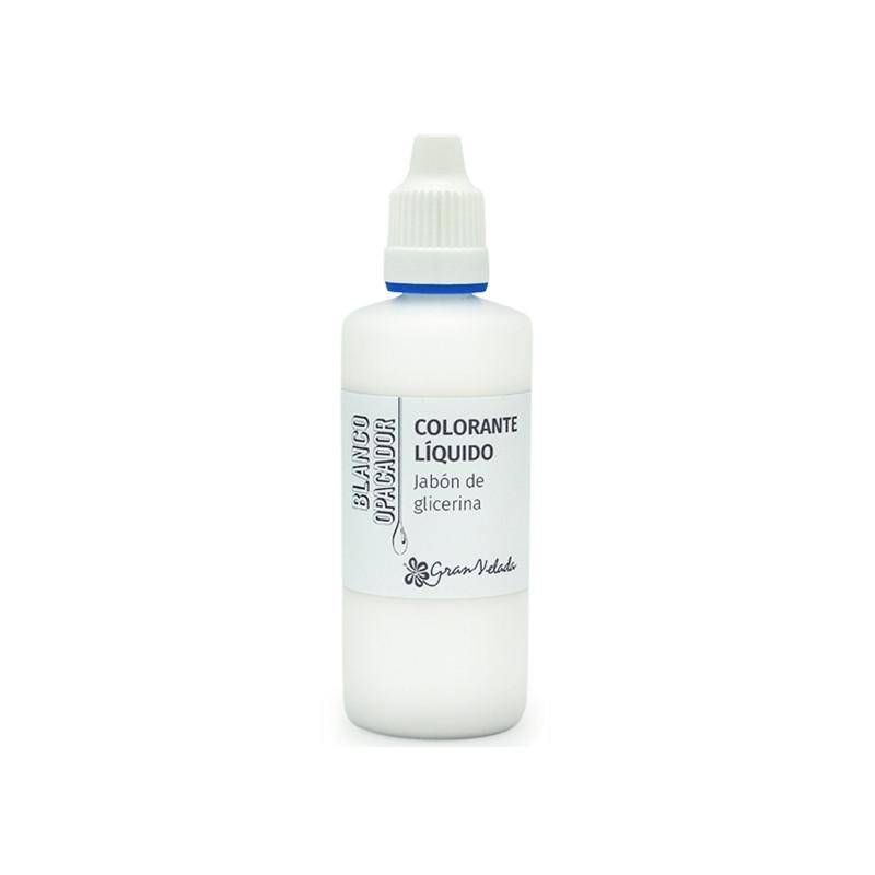 Colorante jabon glicerina blanco opacador
