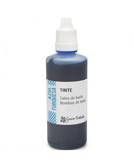 Tinta Azul Turquesa para Sais e Bombas de Banho