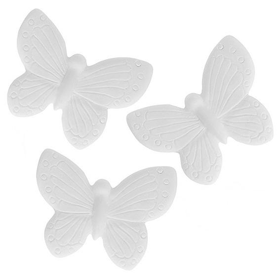 Forma cerâmica perfumada 3 borboletas