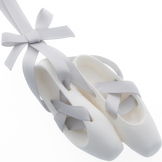 Forma de silicone sapatilha de ballet