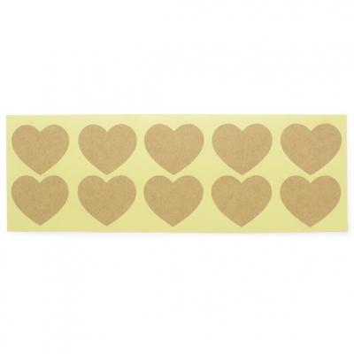 Pegatinas corazon para packaging