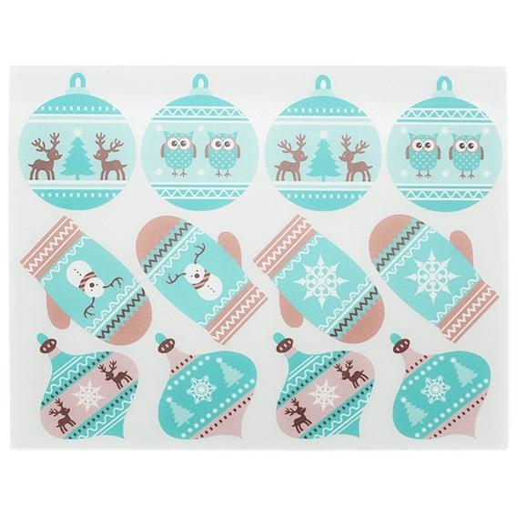 Etiquetas Decorativas Presente Natal