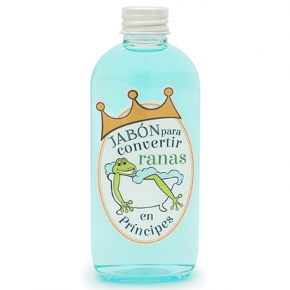 Pegatinas jabón para convertir ranas en príncipes