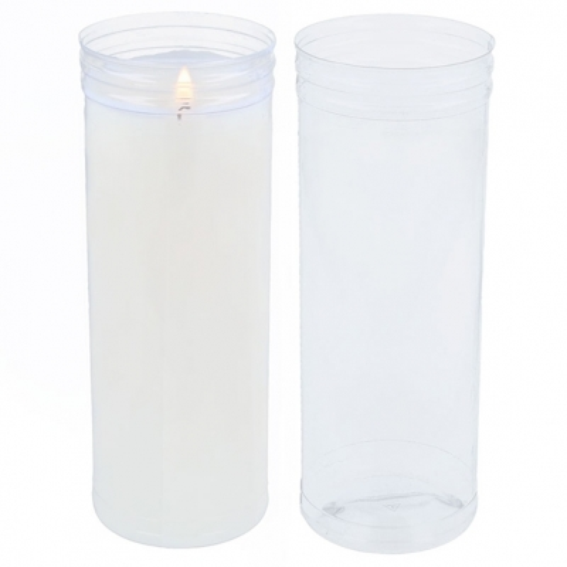 Envase para velas liturgicas