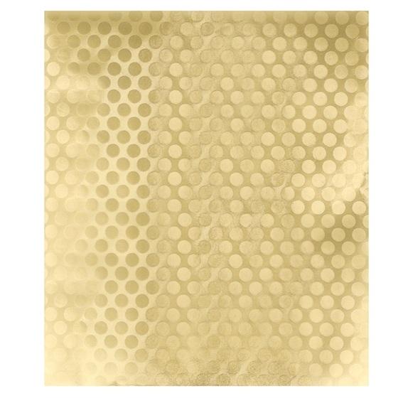 Papel de alumínio dourado pop