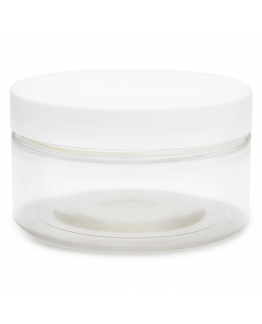 Recipiente Transparente 100 ml tampa branca