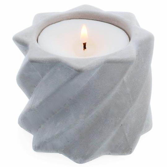 Molde suporte velas redemoinho