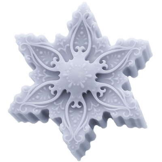Molde de copo nieve