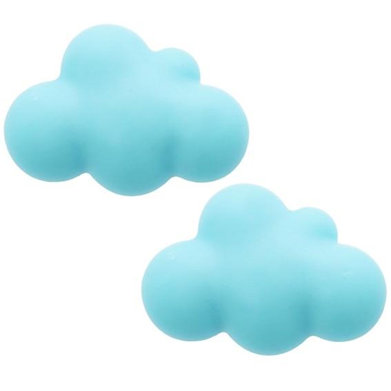Molde com formato de nuvem