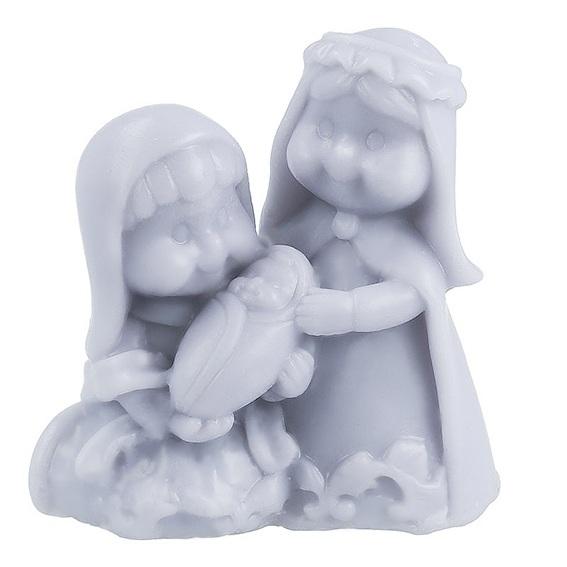 Molde Santa Ana, la Virgen y el niño