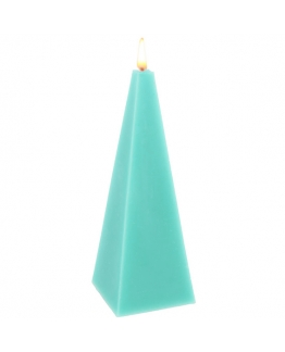 Molde piramide para velas