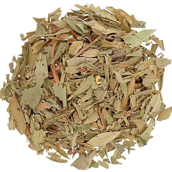 Folhas de murta-comum