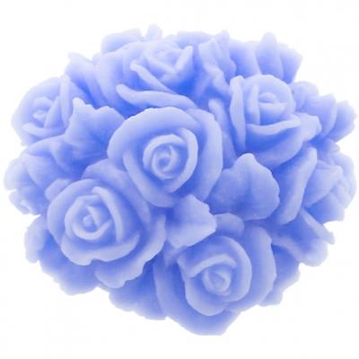 Molde centro de rosas em 3D