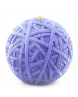 Molde ovillo de lana redondo