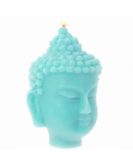 """Molde para fazer velas """"Cabeça de Buda""""."""