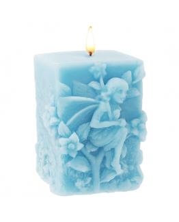 Molde velas decorativas, Fada de Jardím, retangular