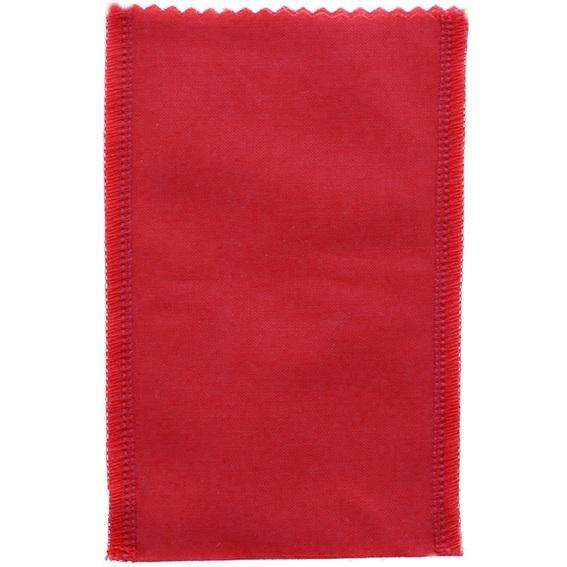 Saquinho de tela vermelha