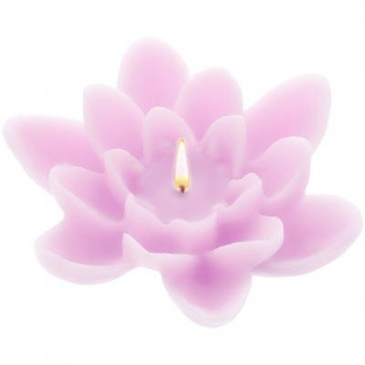 Molde velas flotantes nenufar 8 cm