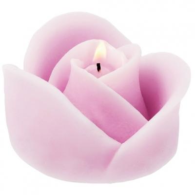 """Molde para fazer velas """"Rosa Romântica"""""""