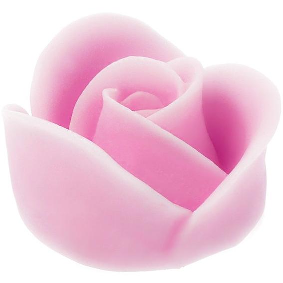 Molde sabonete rosa romantica
