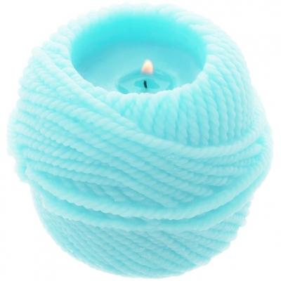 Molde para fazer velas decorativas, Novelo de Lã Angora.
