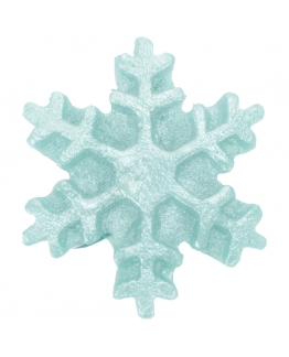 Molde estrella de nieve mediana