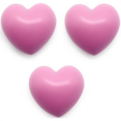 Molde corazones altorelieve