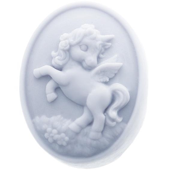 Molde silicona unicornio