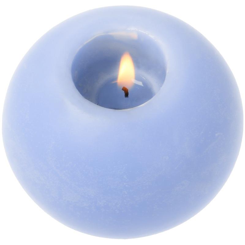 Molde porta velas esferico