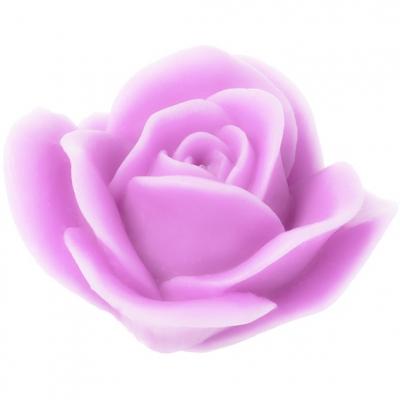Molde velas Rosa Mosqueta