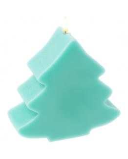Molde velas arbol navidad gordito