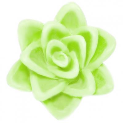 Flor flutuante 7 cm molde para velas e sabonetes